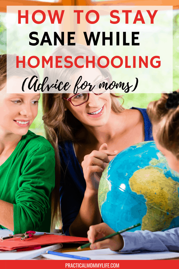 how to stay sane while homeschooling