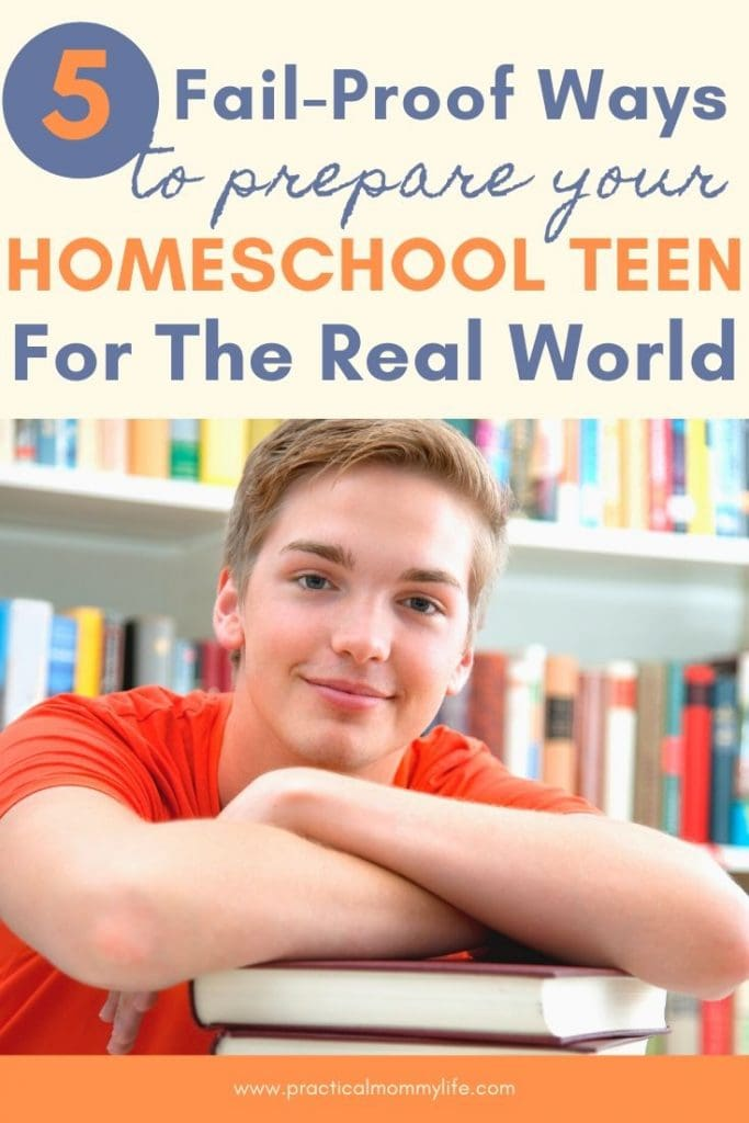 prepare your homeschool teen for the real world
