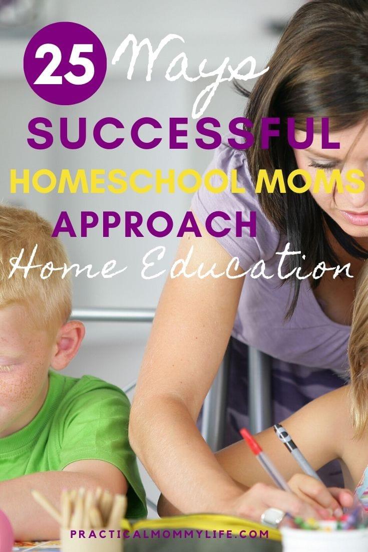 successful homeschool moms