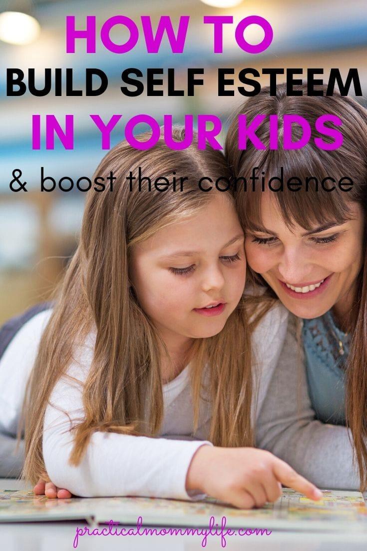 build self esteem in your kids