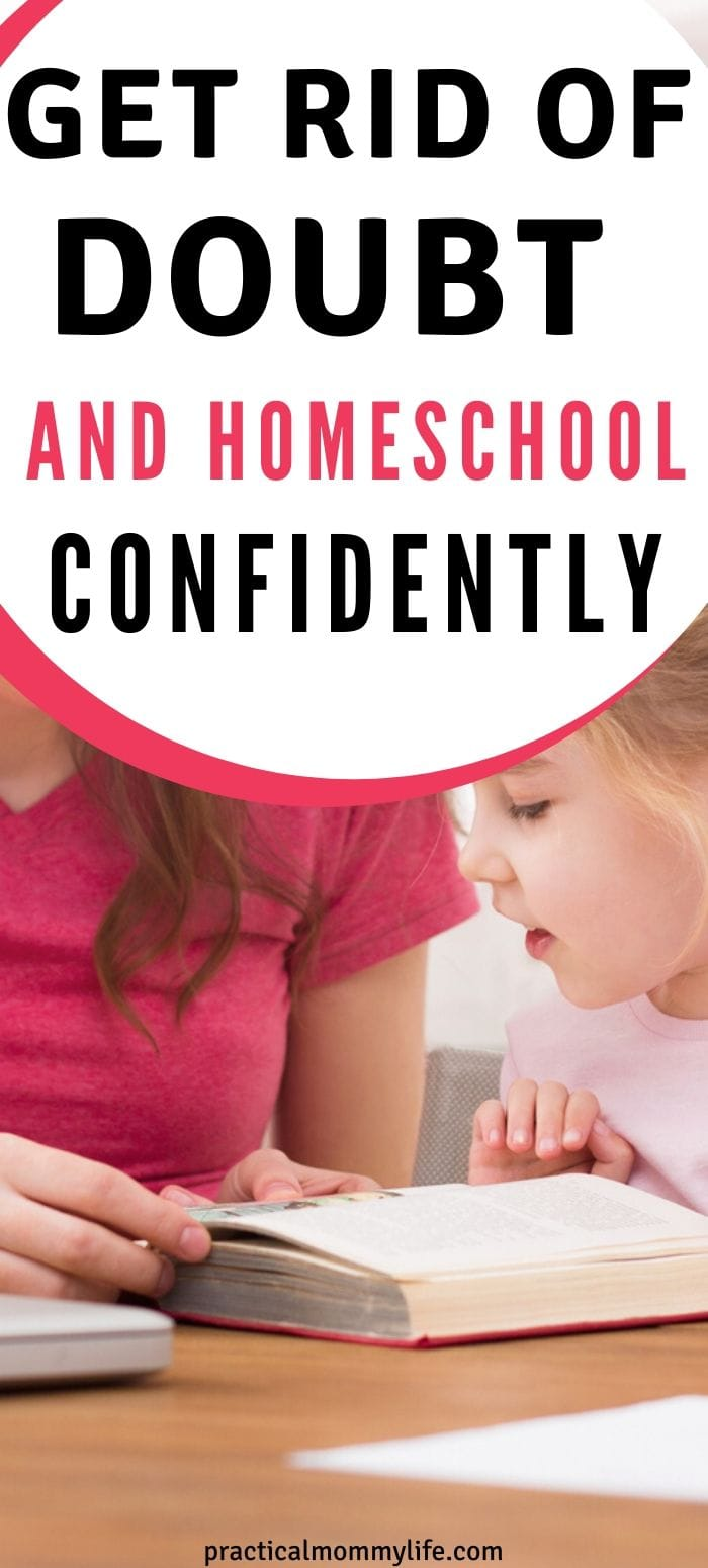 how to be a confident homeschool mom