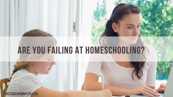 failing at homeschooling