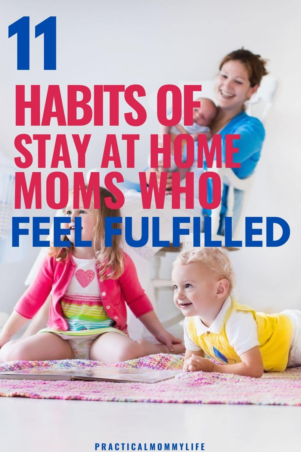 how to feel fulfilled as a stay at home mom
