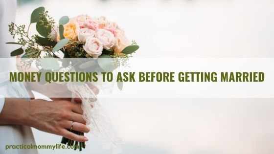 money questions to ask before getting married