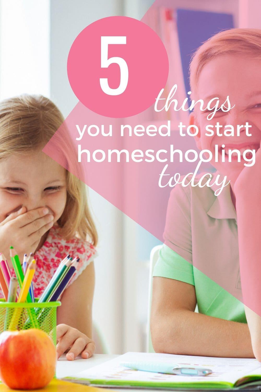 I want to start homeschooling
